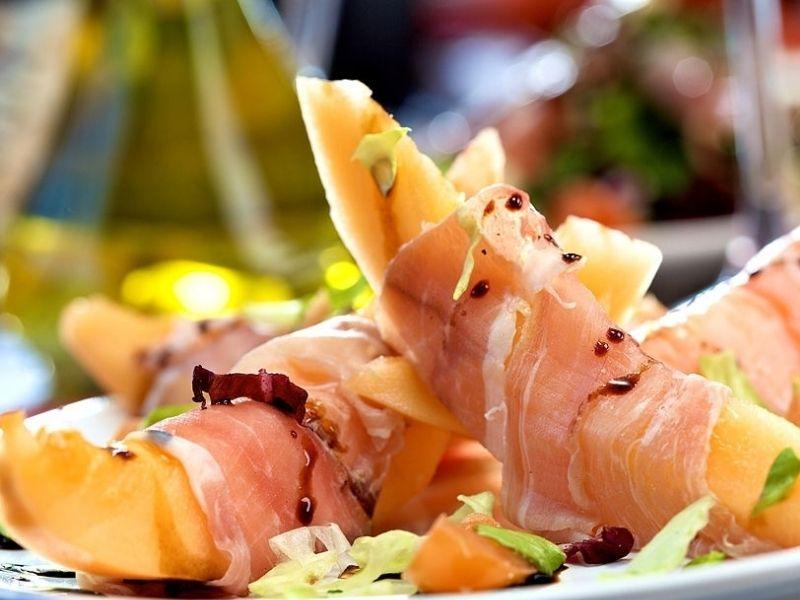 melón y jamón, recetas veraniegas con jamón ibérico